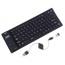 Wireless Foldable Mini Bluetooth Keyboard for iPad/ iPhone/ PC/ Smart Mobile Phones