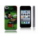 3D Mickey Mouse Protective Back Skin Hard Case Cover for iPhone 4