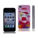 3D Hello Kitty Protective Back Skin Hard Case Cover for iPhone 4