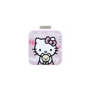 1500mAh Rechargeable External Emergency Power Battery Charger for iPhone/ iPad/ iPod - Hello Kitty