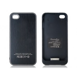 1600 mAh Protective External Battery Back-case for iPhone 4 & 4S