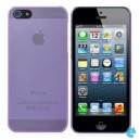 Ultra-Thin Matte Protective PC High Flexicity Back Case for iPhone 5 - Purple