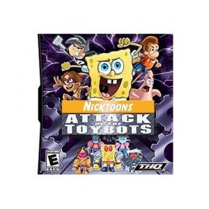 Nicktoons: Attack of the Toybots (DS Game)
