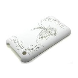 Butterfly Hard Plastic Shell for Apple iPhone 3G