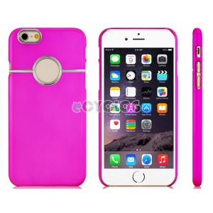 Simple Style Plastic Case for 4.7'' iPhone 6 (Red)