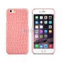 Alligator Pattern Plastic Case for 4.7'' iPhone 6 (Pink)