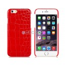 Alligator Pattern Plastic Case for 4.7'' iPhone 6 (Red)