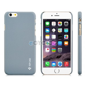 Dull Polish Plastic Case for 4.7'' iPhone 6 (Gray)