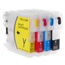 Color Ink Jet Cartridge for Brother Printers (LC Series)