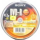 DVD-R Discs for DV Camcorder 10-Pack