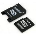 Mini SD Card with Adapter (2GB)